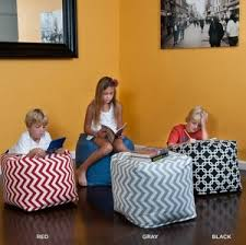 bean bag cube ottoman 41 shipped from 100