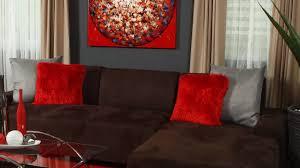 red and cream living room medium density fiberboard black expo