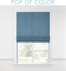 Striped Roman Shades Chateaulando Planning The Kitchen U2013 Hommemaker