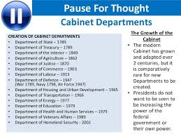 President S Cabinet How Important Is The Cabinet