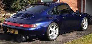 used 1994 porsche 911 993 carrera coupe for sale in