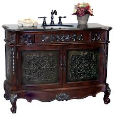 Old Fashioned Bathroom Pictures by Soci Halee 48 Inch Antique Bathroom Vanity Cabinet