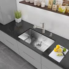 Vigo Stainless Steel Pull Out Kitchen Faucet Faucet Com Vg02021st In Stainless Steel By Vigo