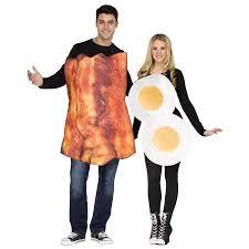 Halloween Costume Bacon Win Halloween Grab Couple Bacon Egg Costume U2022 Midgetmomma