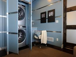 Dark Blue Powder Room Inviting Modern Laundry Room Design Inspiration Showcasing Huge