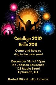 new year invitation party new years party invitation personalized party invites