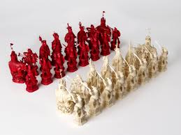 Unique Chess Set The World U0027s Most Beautiful And Unusual Chess Sets Atlas Obscura