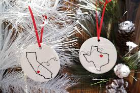 state or country ornament best friends