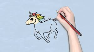 how to draw an unicorn easy for kids easy and simple drawing for