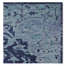 William Sonoma Kitchen Rugs Mystic Medallion Hand Knotted Rug Blue Williams Sonoma
