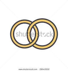 symbol of ring in wedding vector black wedding rings icon on stock vector 435433726