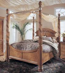 Victorian Canopy Bed King Size Canopy Bed Frame Beautifully Intricate Iron Headboards