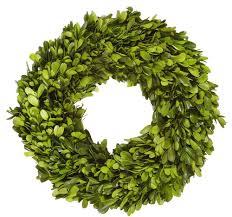 boxwood wreath wreath preserved 12 diameter green