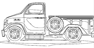 15 pickup truck coloring pages demplates