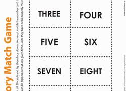 memory games worksheets u0026 free printables education com
