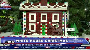 Images Of Christmas Decorated Houses First Look 2016 Christmas Decorations Inside The White House
