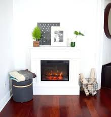 Corner Electric Fireplace White Electric Fireplace Stove U2013 April Piluso Me