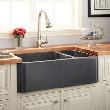 33 inch farm sink picturesque 33 farm sinks polished granite 70 30 offset double bowl