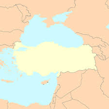 Blank Map Of Mediterranean by Turkey Map With Cities Blank Outline Map Of Turkey