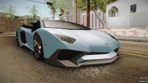 car lamborghini 2017 lamborghini aventador for gta san andreas