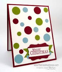 stampin up christmas cards archives the creative grove