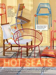 Dot Patio Furniture by Seats The Blu Dot Mesh Chair In Better Homes U0026 Gardens