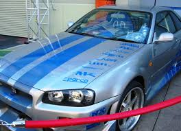 blue nissan skyline fast and furious nissan skyline r34 gtr 15 nissan skyline gtr 2 fast 2 furious