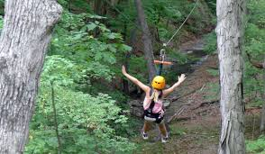 Treetop Canopy Tours by Our Family Adventure Zip Lining At Zipzone Canopy Tours In