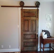 Sliding Doors Closets Rolling Sliding Closet Door Made From Parts And Pieces Around The