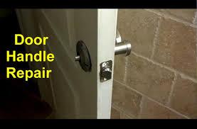 Internal Door Locks Home Door Handles Loose Or Broken Diy Fixes Home Repair Series
