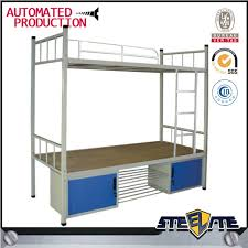 Cheap Price Used School Dormitory Double Deck Steel Bed Adult - Used metal bunk beds