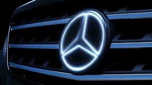 logo mercedes benz 2017 mercedes illuminated star benz accessories led lights merc benz