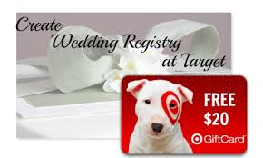 free gifts for wedding registry target 20 target giftcard with wedding registry southern savers