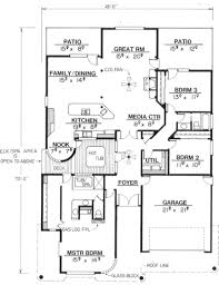 the plan collection house plans main elevation for ms2228 houses pinterest clerestory