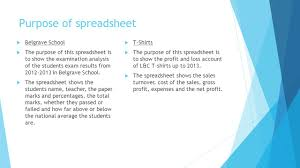Spreadsheet Reader Spreadsheet Analysis By Catherine George Ppt Download