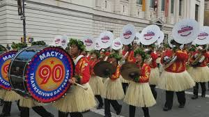 hawaii all state band in macy s thanksgiving parade nov 24 2016