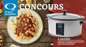 ricardo cuisine concours gagnez une des 10 mijoteuses ricardo concours du jour