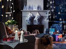 Blue And White Christmas Decorations Uk by White Christmas Ornaments Interior Design Ideas