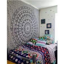 Bedroom Tapestry Indian Wall Bedroom by 210 148cm Printed Elephant Blanket Tapestry Indian Mandala