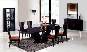 Black Dining Room Set Furniture Entertaining Fancy Cheap Living Room Sets Under 500 For