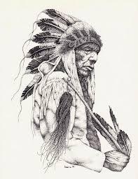wolf indian tattoos designs tattoo design native american warrior by badfish1111 on
