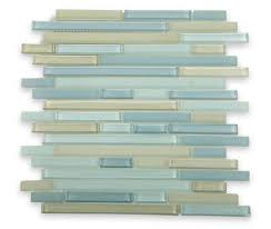 bathroom contempo image of scrub light blue beach glass bath