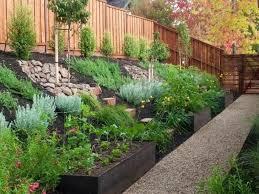 landscape design for sloped backyard 1000 ideas about sloped