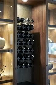 rack in cupboard wine rack kitchen cabinet wine rack size