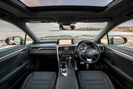 lexus rx f sport price 2017 lexus rx200t adds f sport and sports luxury variants prices