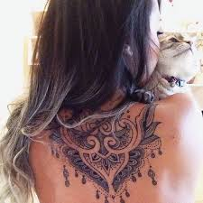 Tattoo Ideas For Back Of Neck The 25 Best Neck Tattoos Ideas On Pinterest Best Neck