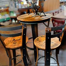 high table and chair set effigy of high top table sets wine barrel ideas pinterest high