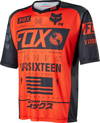 fox motocross shirts fox motocross jersey fox 180 falcon mx shirt jerseys u0026 pants