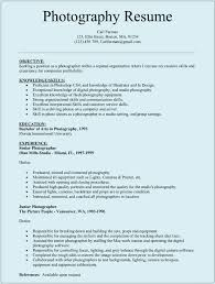 Freelance Photographer Resume Sample by Ample Professional Photographer Resume Customer Service Creative