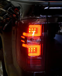 2011 chevy silverado smoked tail lights silverado oled tail lights truck car parts 264238rbk recon